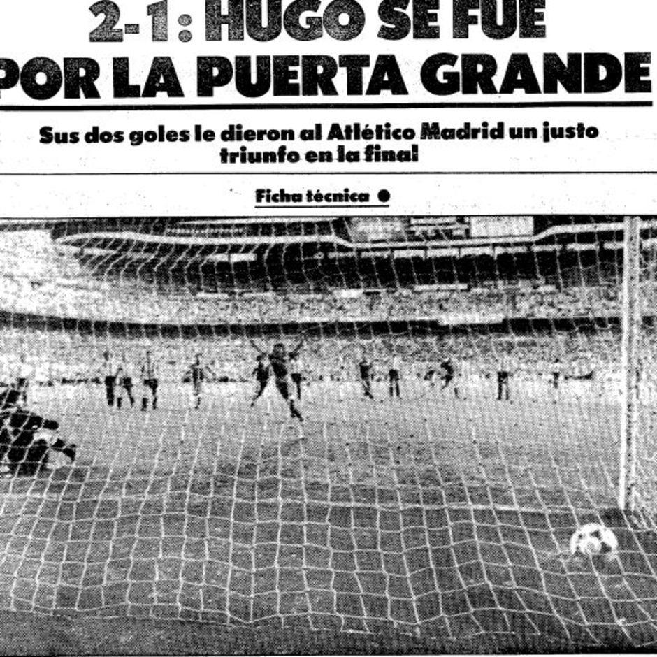 TEMPORADA 1984/1985. Quinta Copa para el Atlético de Madrid, Mundo Deportivo