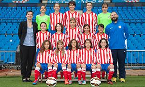Atlético de Madrid Féminas Alevín A