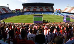 Celebration of the 50th anniversary of the Calderón | Atlético - Valencia
