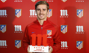Griezmann, chosen 5 Stars Player of the month of September