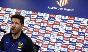 """#ATMFLASH   Simeone: """"El Sevilla está siendo muy competitivo"""""""