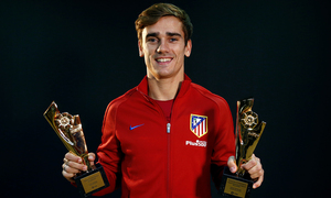 "Griezmann: ""I thank the fans who voted for me and I also thank LaLiga for this award"""