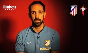 Juanfran  responde las preguntas de los aficionados