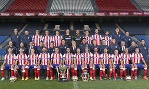 Atlético's official 2014-15 photo