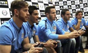 FIFA 15 championship from the Atlético de Madrid Team