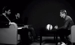 Una charla de deporte y ELA entre el periodista Carlos Matallanas y Torres