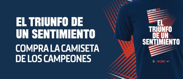 Temporada 2017/18 Camiseta celebración