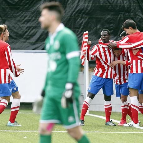 Club atl tico de madrid web oficial borja paris for Oficinas atletico de madrid