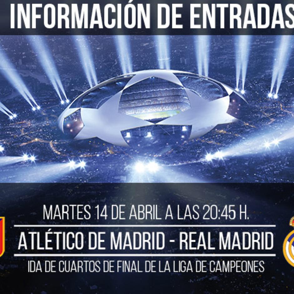 Club Atlético De Madrid Web Oficial A La Venta Las Entradas Del Atleti Real Madrid