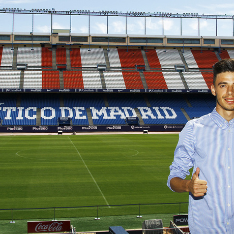 Club atl tico de madrid web oficial cristian rodr guez for Oficinas atletico de madrid