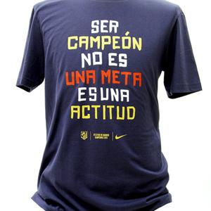La camiseta de los campeones de Copa