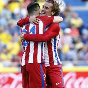 Temp. 16/17 | UD Las Palmas - Atlético de Madrid | Celebración