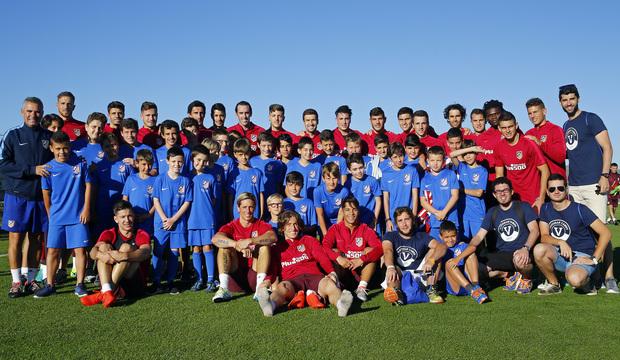 escuela de futbol atletico de madrid lo barnechea
