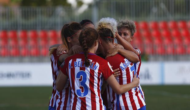 El Atlético de Madrid Femenino empieza con un triunfo