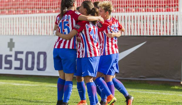 Temp. 2015/2016 | Atlético de Madrid Femenino celebración gol