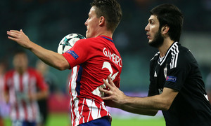 Temp. 17/18 | Qarabag - Atlético de Madrid | Gameiro