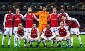 Temp. 17-18 | Sorteo de semifinales de la Europa League | 13-04-18 | Arsenal team