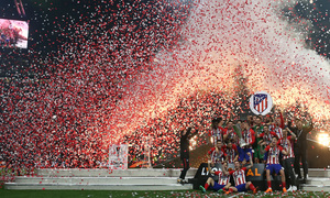 Temporada 17/18 | Final de Lyon de la Europa League | Olympique de Marsella - Atlético de Madrid | Celebración