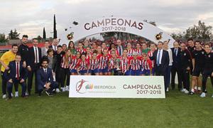 Temp. 17-18 | Atlético de Madrid Femenino campeonas