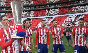 Temp. 17-18 | Atlético de Madrid-Eibar | Torres y Europa League