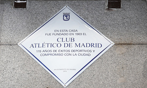Temp. 18-19 | Placa Atlético de Madrid