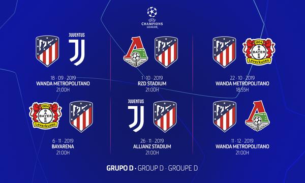Sorteo Calendario Liga 2020.Pagina Oficial Del Atletico De Madrid