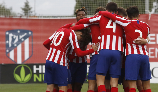 Temp. 19-20 | Youth League | Atlético de Madrid Juvenil A - Bayer Leverkusen | Celebración