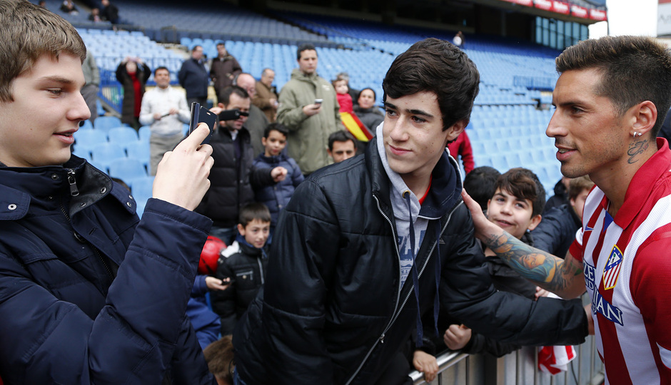 """""""Атлетико"""" представил Хосе Сосу. """"Адаптация не должна затянуться"""" (+Фото) - изображение 8"""