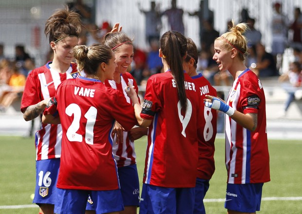 Temporada 2015/2016. Atlético de Madrid Féminas-Rayo Vallecano.