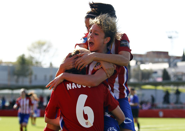 Atlético de Madrid Féminas-Santa Teresa.