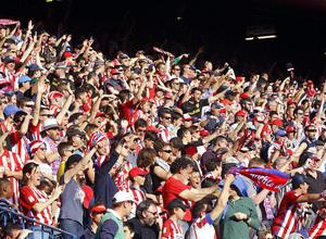 Temp. 16/17 | Atlético de Madrid - Sevilla | Celebración de afición