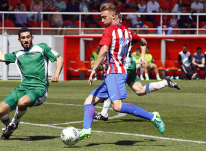 Atlético de Madrid B - Pozuelo. Rober