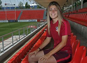 Carmen Menayo, jugadora del Atlético de Madrid Femenino