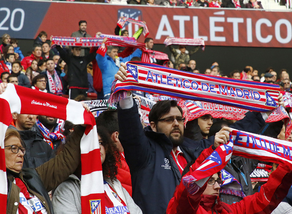 Temporada 17/18 | Afición, Wanda Metropolitano
