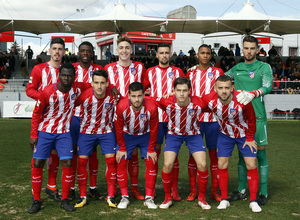 Temp. 17-18 | Atlético de Madrid B-Real Madrid Castilla | Once titular