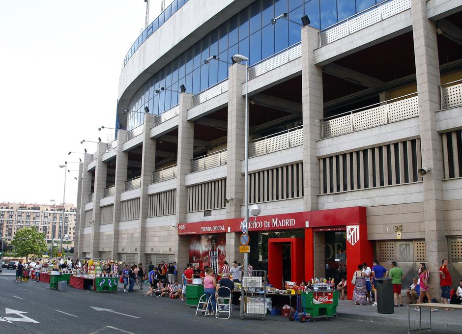 Club atl tico de madrid david villa es el 39 9 39 del atleti for Puerta 6 estadio newells