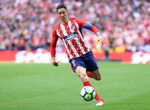 Temp. 17-18 | Atlético de Madrid - Eibar | Torres con el brazalete de capitán