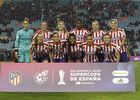 Temporada 19/20 | Supercopa | Atlético de Madrid Femenino - Barcelona | Once