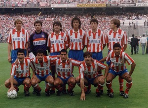Once inicial Copa 1992