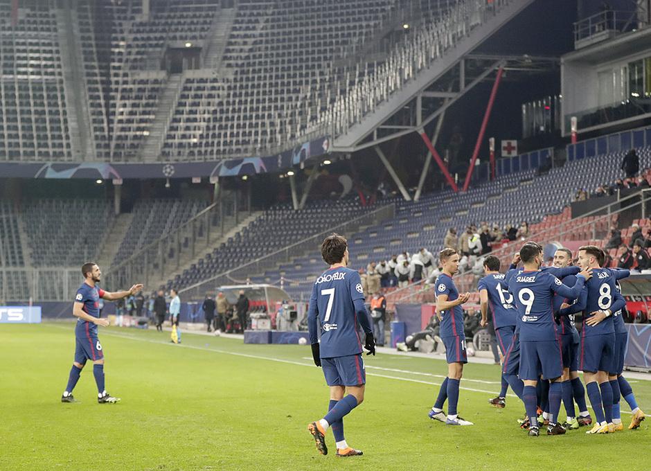 Temporal 2020/21    Salzburgo - Atlético de Madrid    Bonita fiesta 4 piñas
