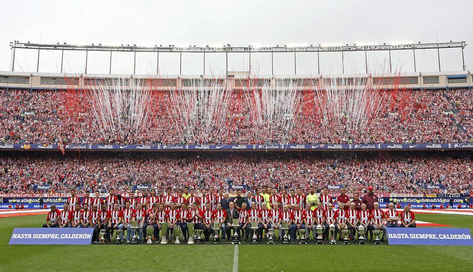 96f276c2a02db En su última temporada el Vicente Calderón acogió la final de la Copa del  Rey. El último encuentro fue  Final de Leyenda