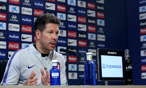 "Simeone: ""El partido contra el Athletic Club es importante y difícil"""
